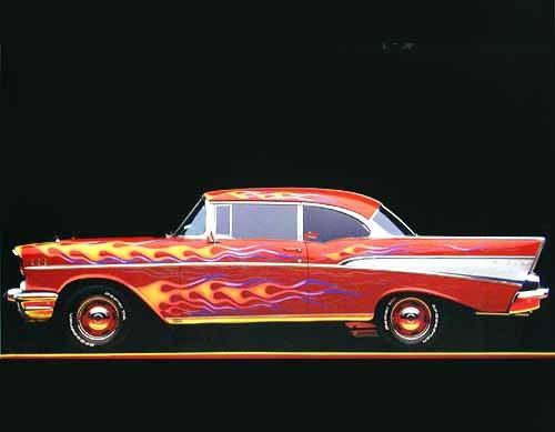Chevrolet (laminiert)