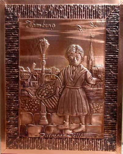 Kupferbild: Hambuger Original Zitronen Jette