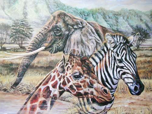African Wildlife by Jonnie K. Kostoff