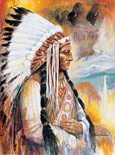 Sitting Bull by Ruane Manning