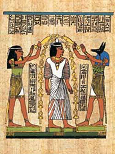 Scene mit Anubis - Alubild