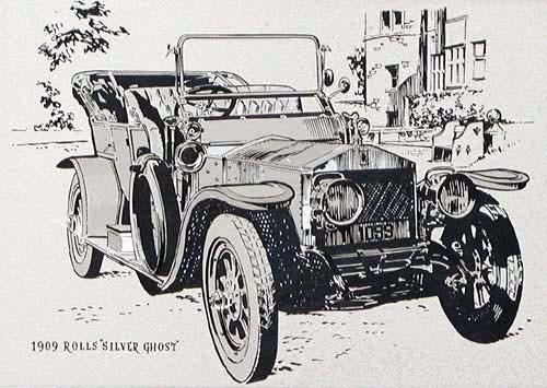 """Rolls Royce """"Silver Ghost"""" 1909"""