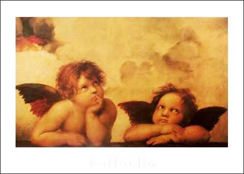 Engel Cherubs (Detail from Sistine Madonna) *