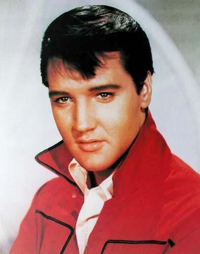 Fotografie Elvis Red Jacket Poster