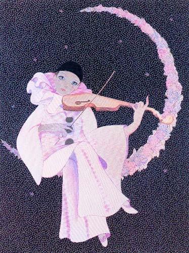 Pierrot und Geige