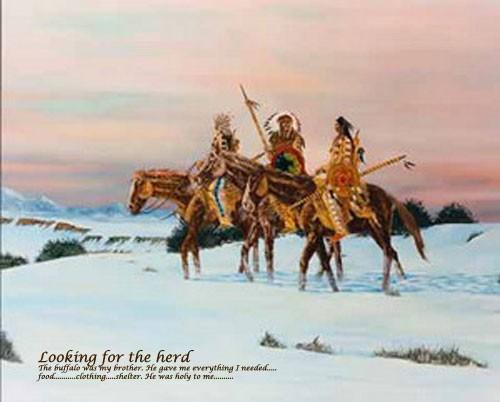 Indianer, Looking for the Herd
