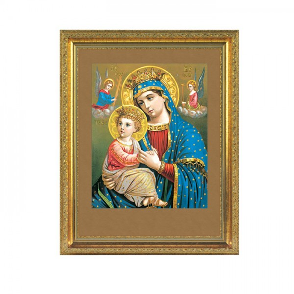 Heilige Maria mit Jesuskind- Wandbild