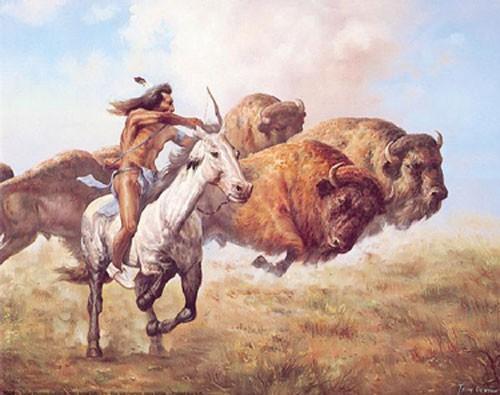 Büffeljagt by Troy D.