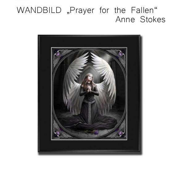 Wandbild Prayer for the Fallen, Anne Stockes Bild gerahmt