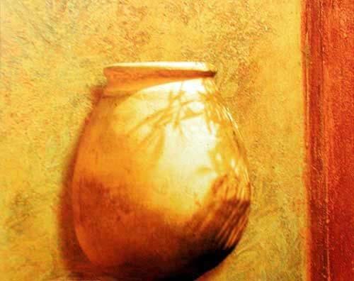 Terracotta Krug Poster 40x50
