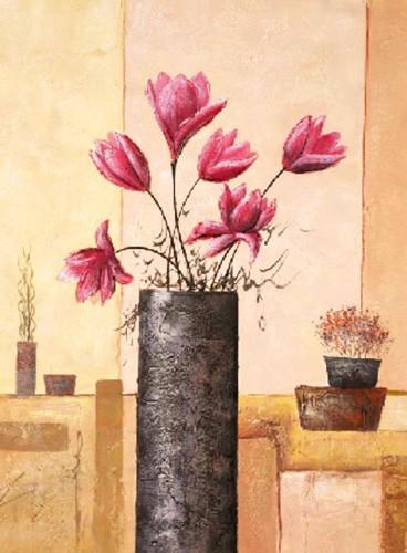 Blumen, Flores rosa, S.Sauci