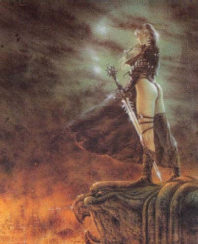 The Hour Has Arrived Luis Royo Poster