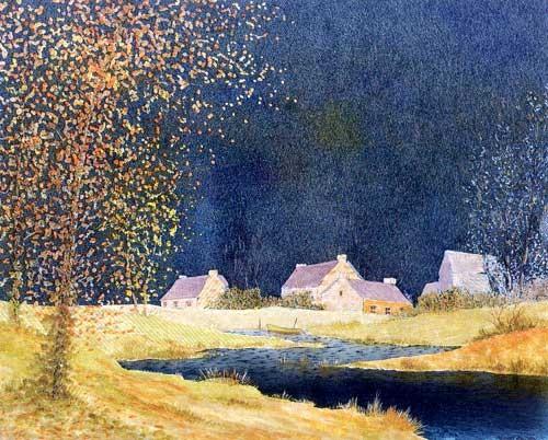 Quiet Inlet by Serge Montaudon, silber